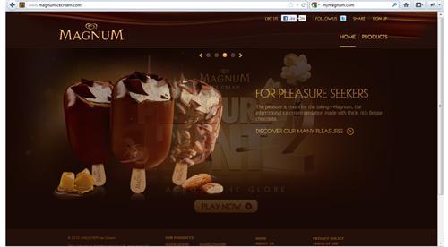 Magnum ชอคโกแล๊ต