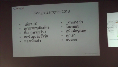Top Keyword 10 Thailand