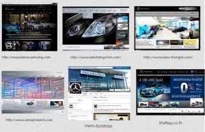 การแข่งขันใน website dealer Mercedes-Benz