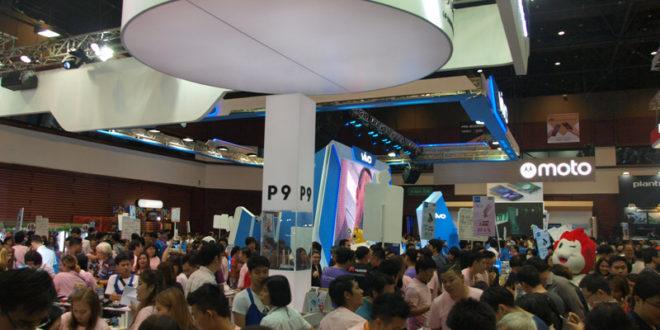 ส่งท้ายปลายปี กระตุ้นด้วยการตลาดอะไรบ้างในงาน Thailand Mobile Expo 2106