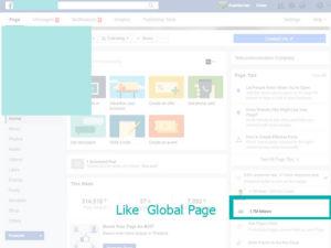 ดู Like ใน Global Page