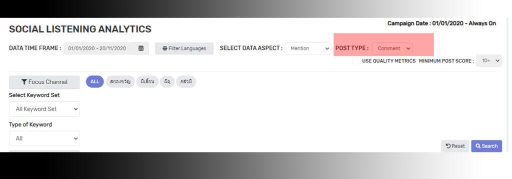 User Commnet Analytics